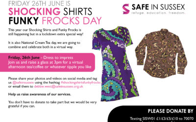 Shocking Shirts and Funky Frocks Day 2020