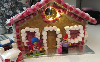 Sales reached 613 for Safe in Sussex's 2020 Gingerbread House Fun!